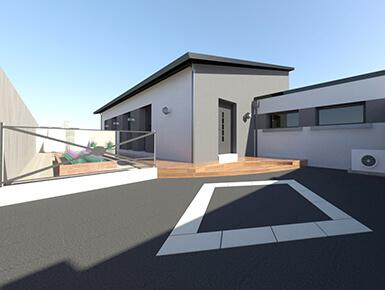 Modélisation 3D d'une maison individuelle